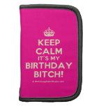[Crown] keep calm it's my birthday bitch!  Mini Folio Planners