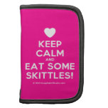 [Love heart] keep calm and eat some skittles!  Mini Folio Planners