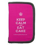 [Cupcake] keep calm and eat cake  Mini Folio Planners