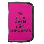 [Cupcake] keep calm and eat cupcakes  Mini Folio Planners