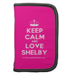 [Knitting crown] keep calm and love shelby  Mini Folio Planners