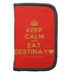 [Crown] keep calm and eat destinay♥  Mini Folio Planners