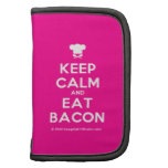 [Chef hat] keep calm and eat bacon  Mini Folio Planners
