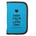 [Love heart] keep calm and love cma  Mini Folio Planners