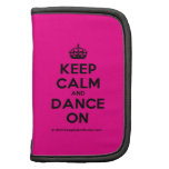 [Crown] keep calm and dance on  Mini Folio Planners