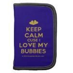 [Two hearts] keep calm cuse i love my bubbies  Mini Folio Planners