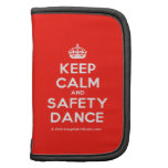 [Crown] keep calm and safety dance  Mini Folio Planners