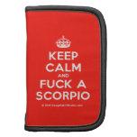 [Crown] keep calm and fuck a scorpio  Mini Folio Planners