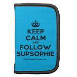 [Crown] keep calm and follow supsophie  Mini Folio Planners