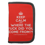 [Crown] keep calm and where the fuck did you come from?!  Mini Folio Planners