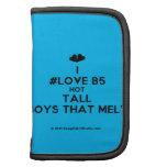 [Two hearts] i #love b5 hot tall boys that melt  Mini Folio Planners