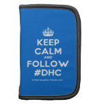[Crown] keep calm and follow #dhc  Mini Folio Planners