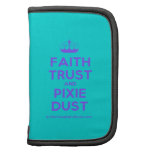 [Knitting crown] faith trust and pixie dust  Mini Folio Planners