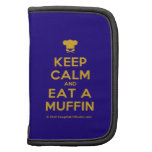 [Chef hat] keep calm and eat a muffin  Mini Folio Planners