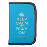 [Crown] keep calm and pray on  Mini Folio Planners