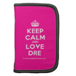 [Crown] keep calm and love dre  Mini Folio Planners