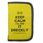 [UK Flag] keep calm i'll do it dreckly  Mini Folio Planners