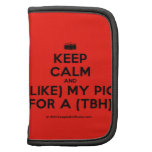 [Camera] keep calm and (like) my pic for a (tbh)  Mini Folio Planners
