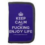 [Crown] keep calm and fucking enjoy life  Mini Folio Planners