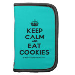 [Crown] keep calm and eat cookies  Mini Folio Planners