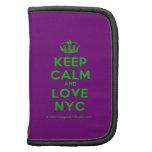 [Dancing crown] keep calm and love nyc  Mini Folio Planners