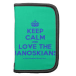 [Crown] keep calm and love the janoskians  Mini Folio Planners