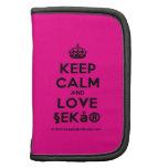 [Crown] keep calm and love §ekå®  Mini Folio Planners