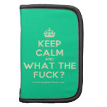 [Crown] keep calm and what the fuck?  Mini Folio Planners