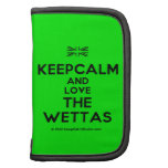 [UK Flag] keepcalm and love the wettas  Mini Folio Planners