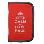 [Crown] keep calm and love paul  Mini Folio Planners