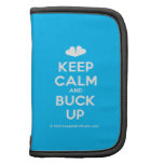 [Two hearts] keep calm and buck up  Mini Folio Planners