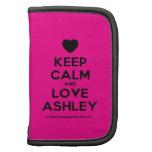[Love heart] keep calm and love ashley  Mini Folio Planners