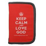 [Cupcake] keep calm and love god  Mini Folio Planners
