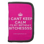 [Crown] i cant keep calm its my birthday bitchessss  Mini Folio Planners