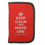 [Crown] keep calm and make one  Mini Folio Planners