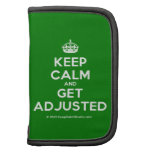 [Crown] keep calm and get adjusted  Mini Folio Planners
