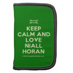 [UK Flag] keep calm and love niall horan  Mini Folio Planners