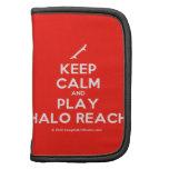 [Skateboard] keep calm and play halo reach  Mini Folio Planners