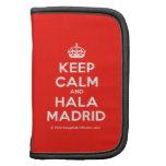 [Crown] keep calm and hala madrid  Mini Folio Planners