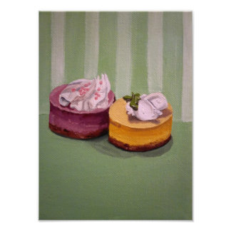 Mini foto de los pasteles de queso