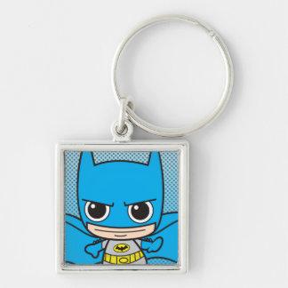 Mini funcionamiento de Batman Llavero Cuadrado Plateado