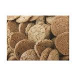Mini galletas lona envuelta para galerías