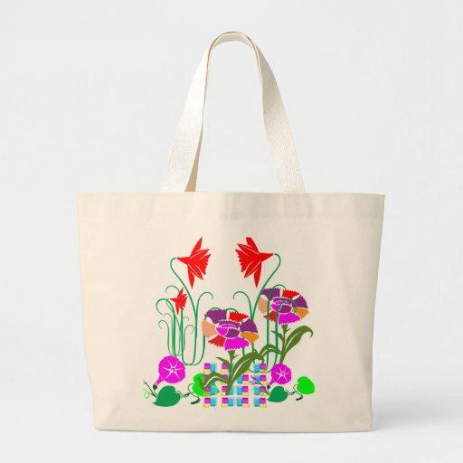 Mini Garden : Flower Arrangement Tote Bag