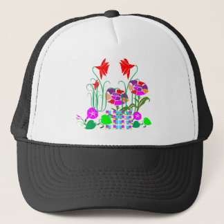 Mini Garden : Flower Arrangement Trucker Hat