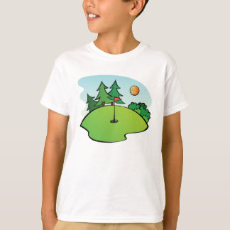 Mini Golf Clip Art T-Shirt
