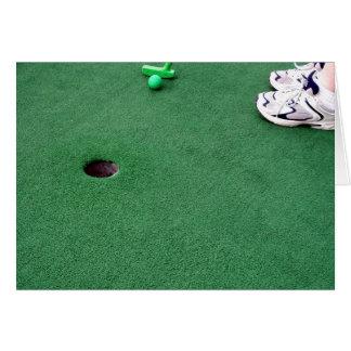 Mini Golf Invite Cards