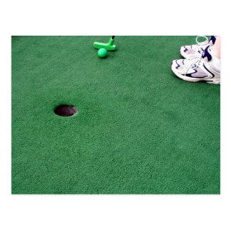 Mini Golf Invite Postcard