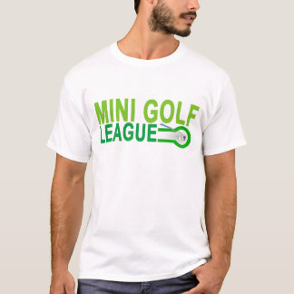 Mini Golf LEAGUE.png T-Shirt