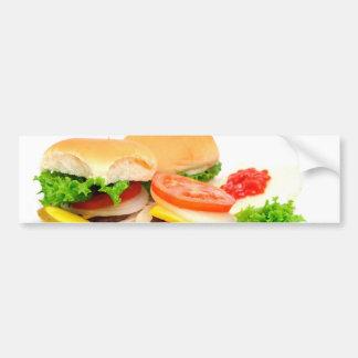 Mini Hamburgers Bumper Sticker