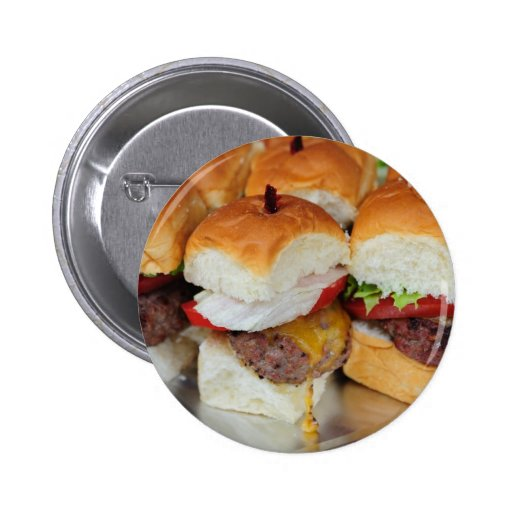 Mini Hamburgers Pin